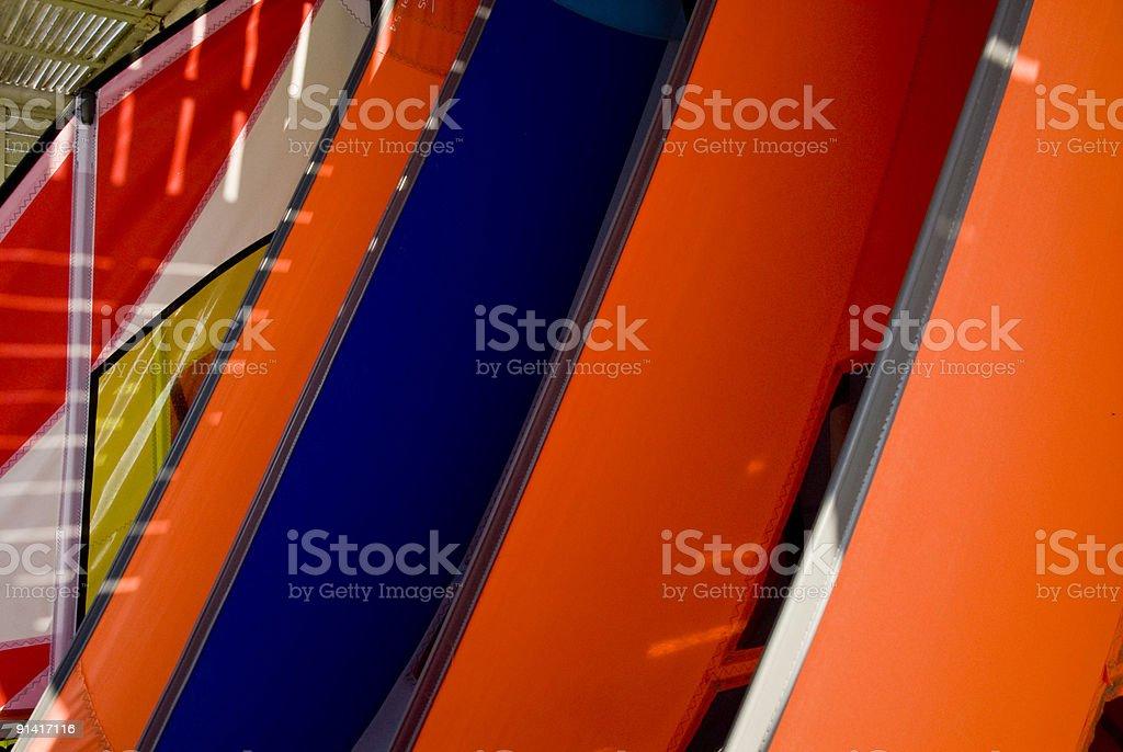Windsurf Sails stock photo