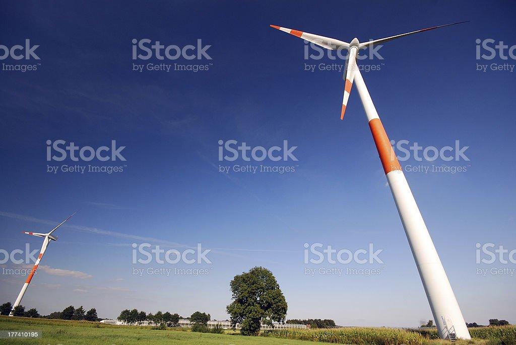 windturbines royalty-free stock photo