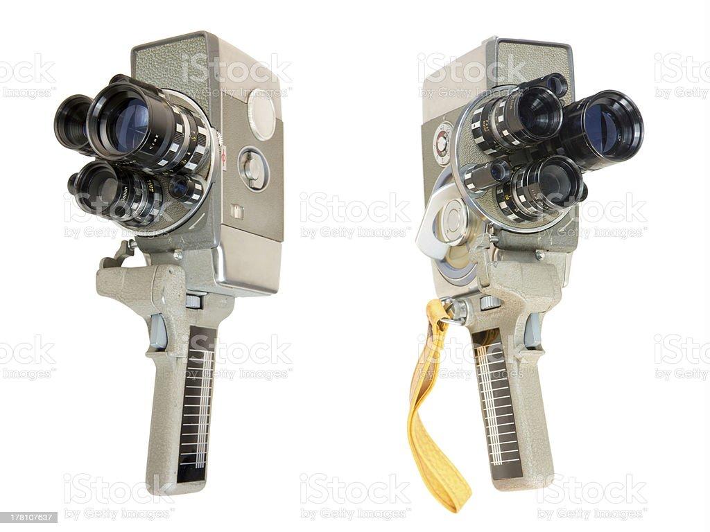 Wind-up 16mm Movie Camera stock photo