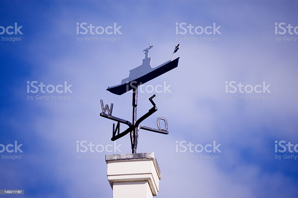 Windvane royalty-free stock photo