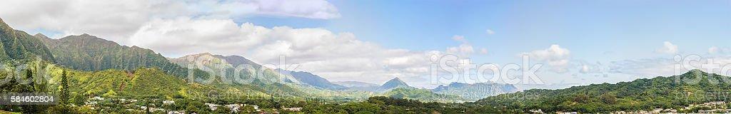 Windward Panorama stock photo