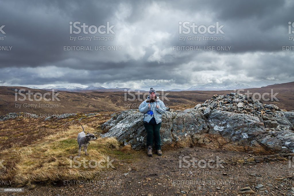 Windy Coll stock photo