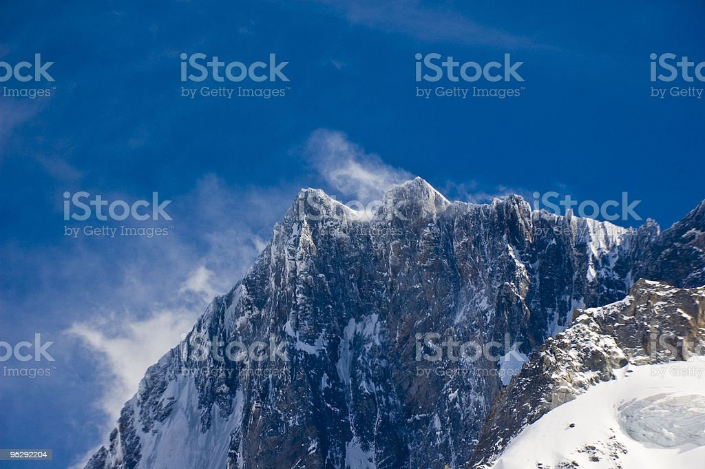 Windy royalty-free stock photo