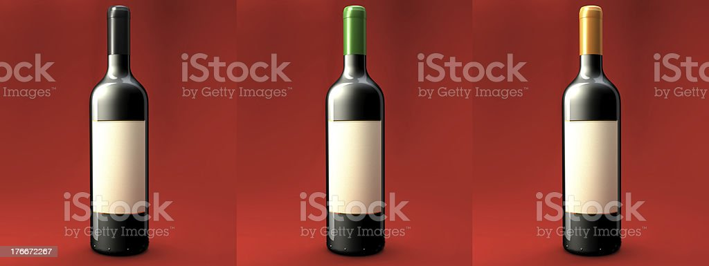 Wine 3 in 1! royalty-free stock photo