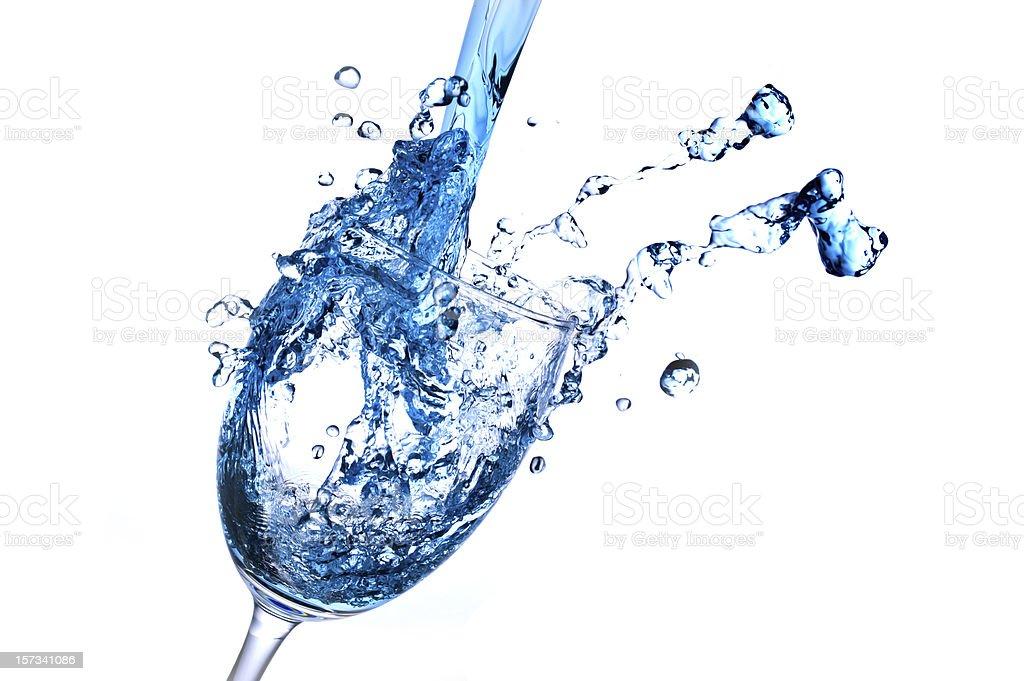 Wine Abstract Splashing royalty-free stock photo