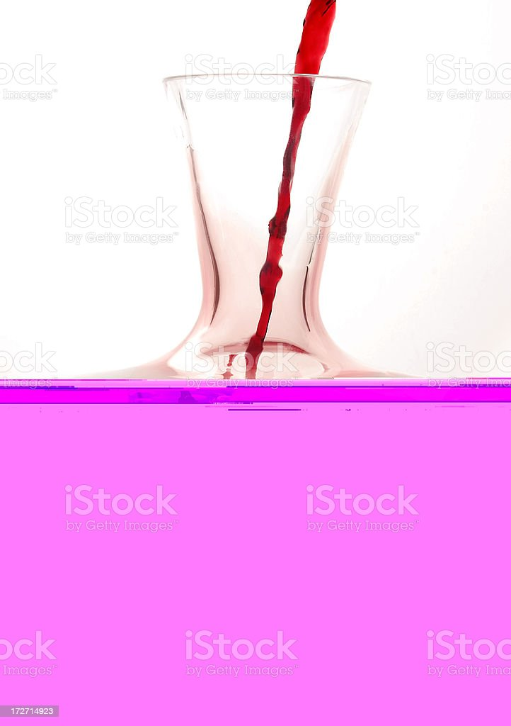 Wine and Carafe royalty-free stock photo