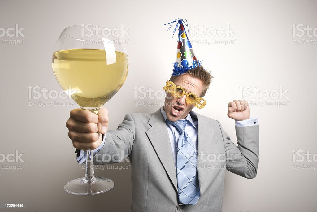 Wine and Dine in 2009 stock photo