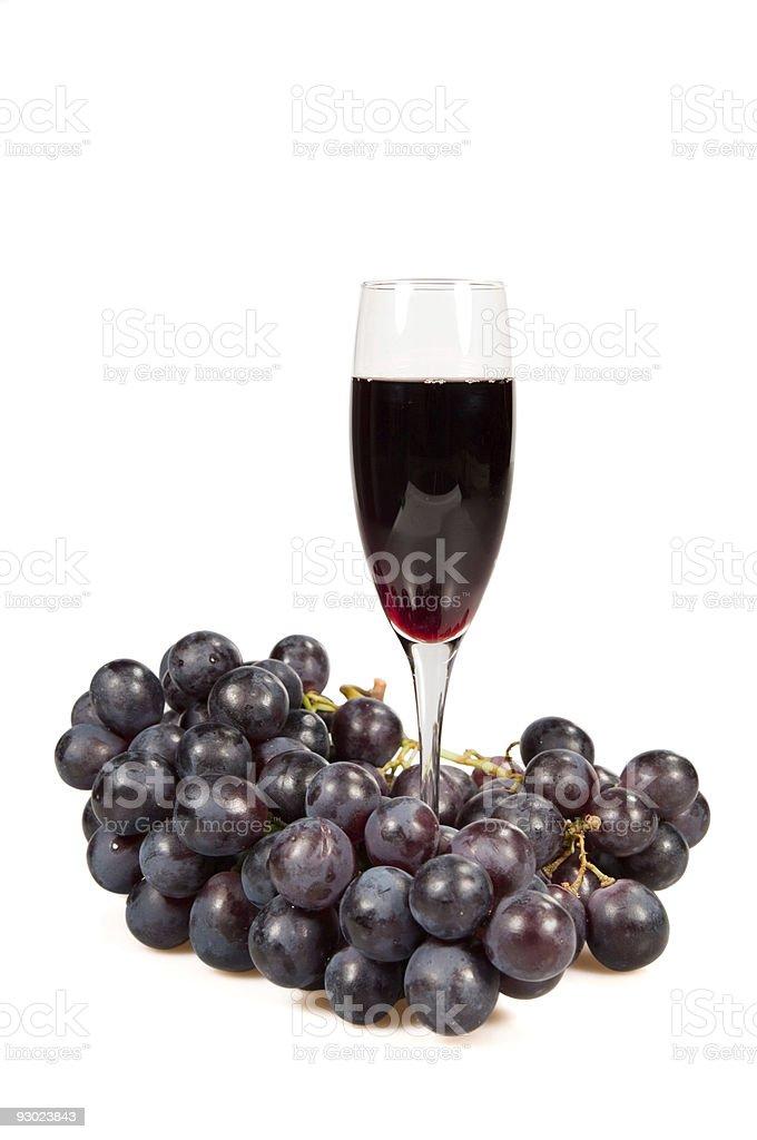 Wine and fruit stock photo