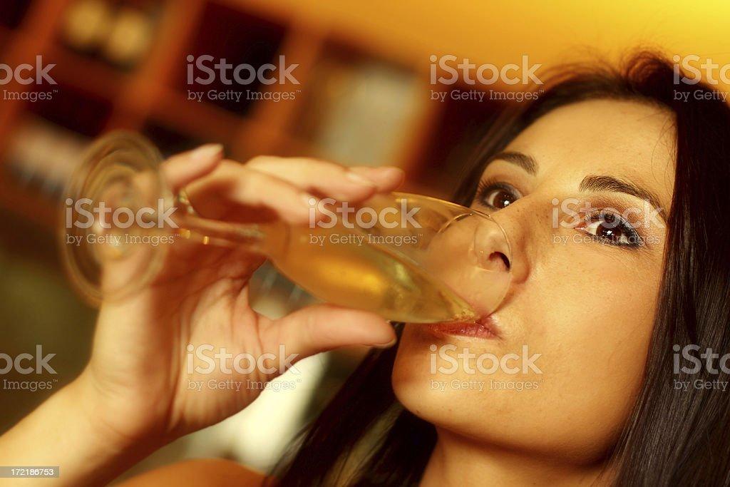 Wine Appreciation royalty-free stock photo