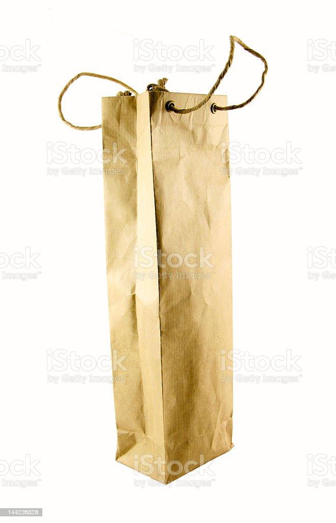 Wine bag royalty-free stock photo