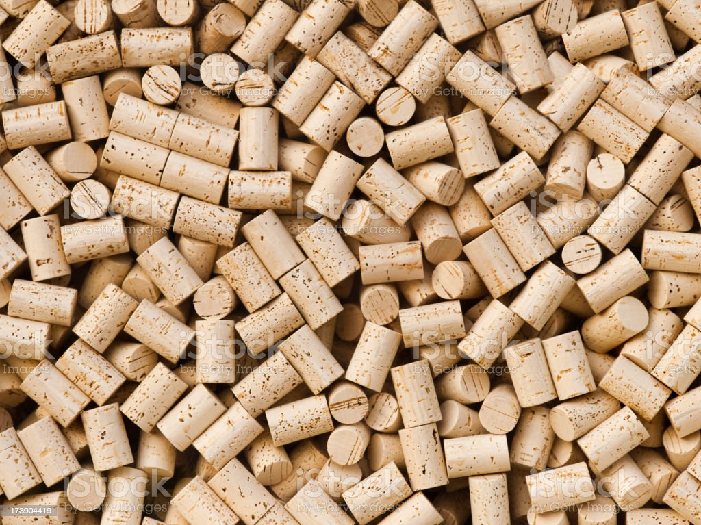 Wine bottle cork background royalty-free stock photo