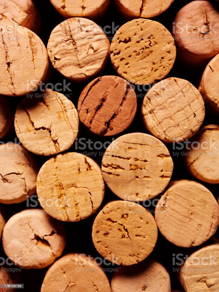 Wine Bottle Corks stock photo