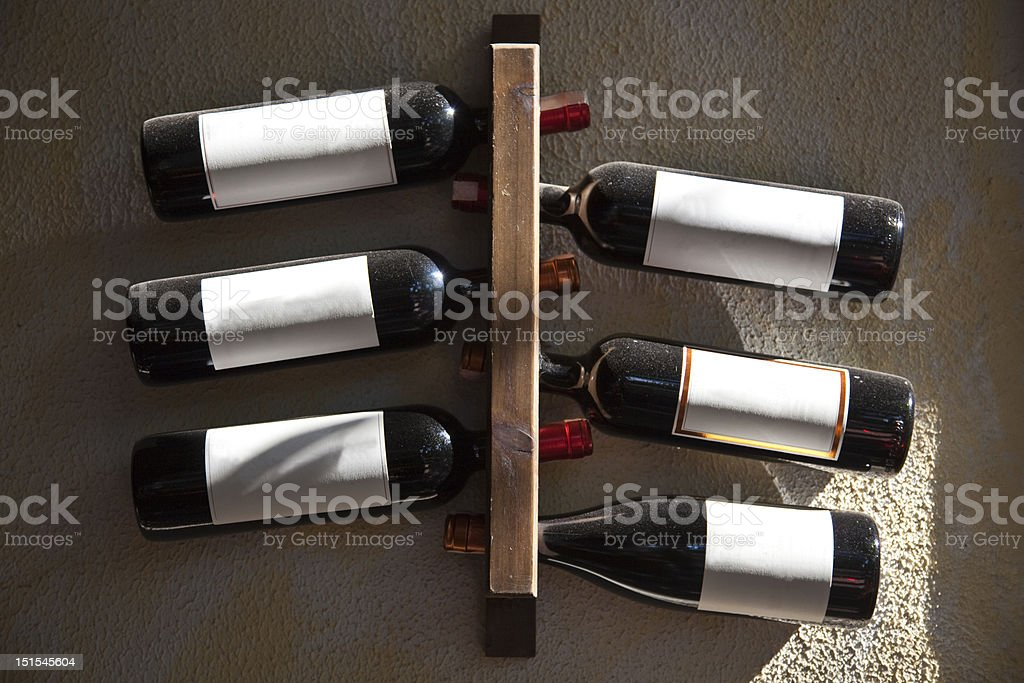 Wine Bottle stock photo
