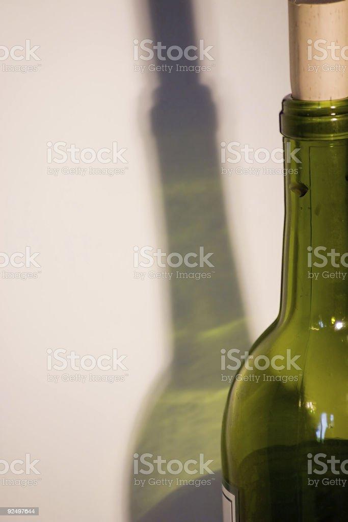 Wine Bottle royalty-free stock photo