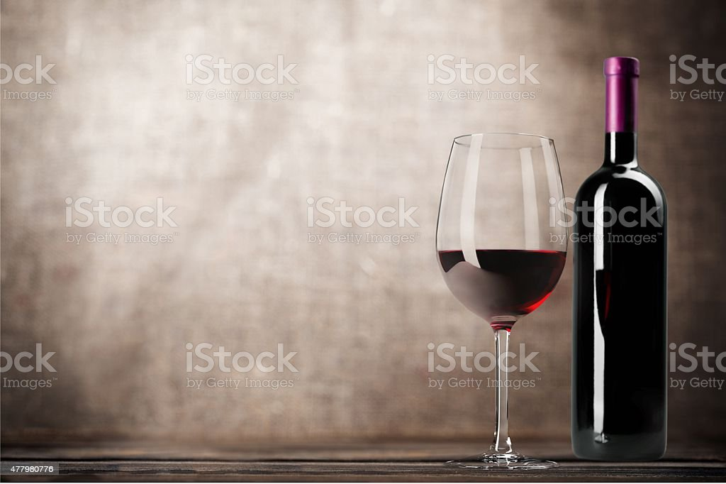 Wine Bottle, Wine, Bottle stock photo