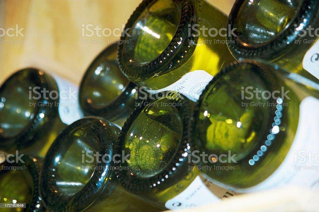 Wine - Bottles royalty-free stock photo