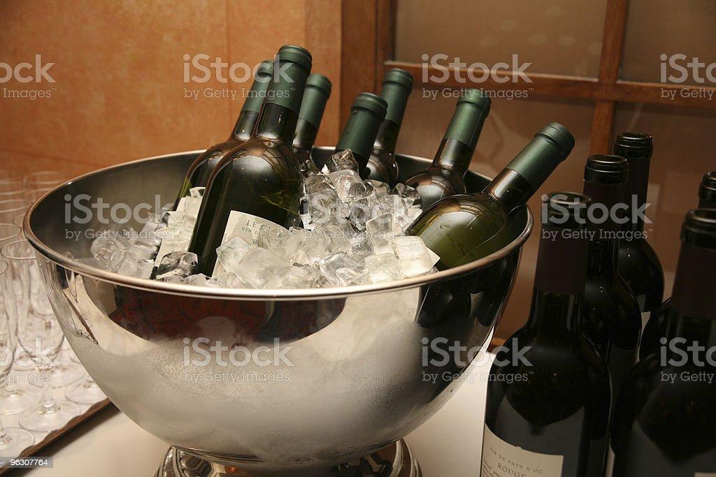 Wine Bucket royalty-free stock photo