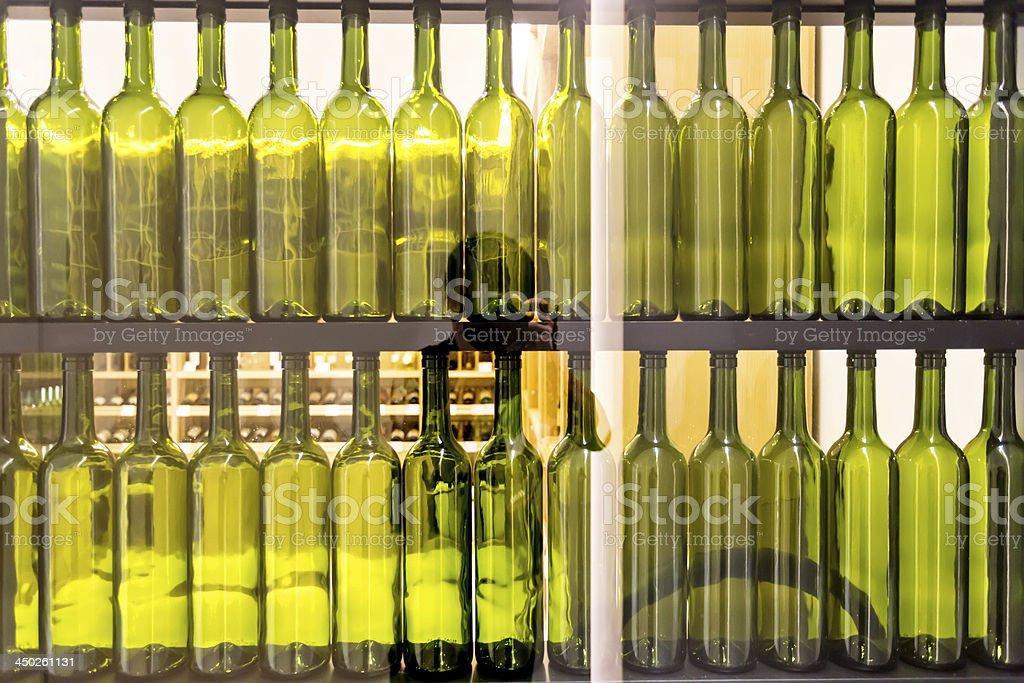wine cabinet royalty-free stock photo