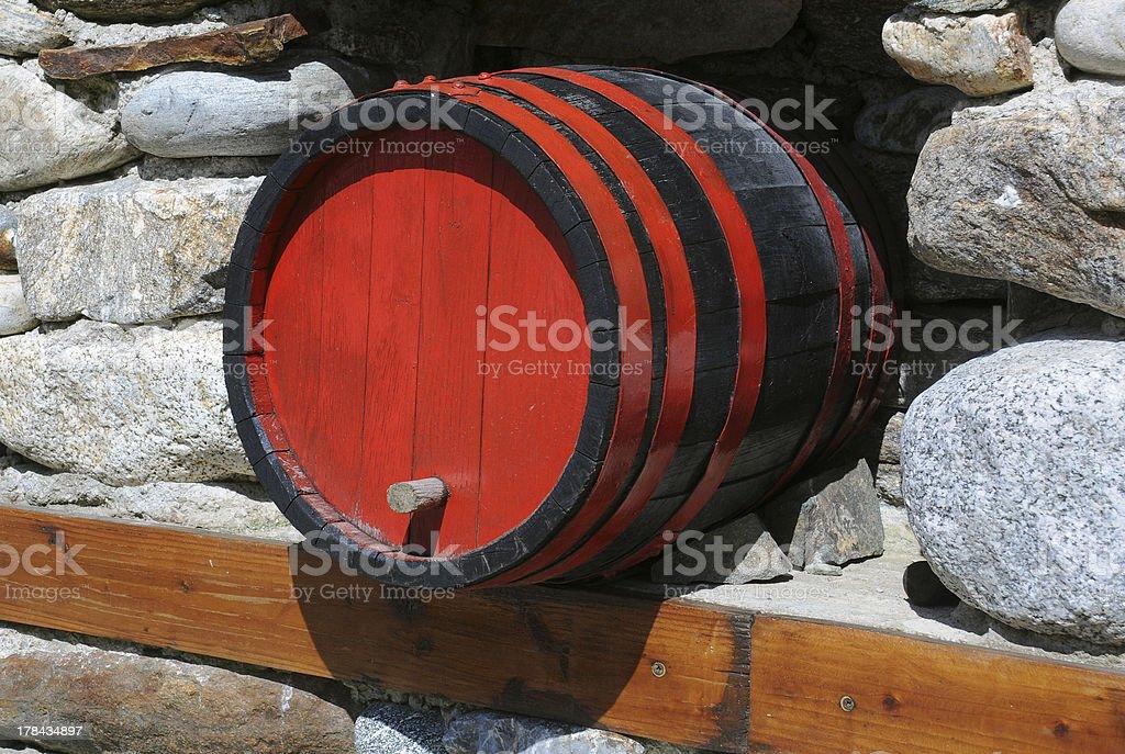Wine Cask royalty-free stock photo