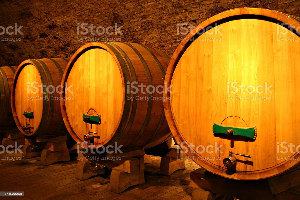wine cask royalty-free stock photo