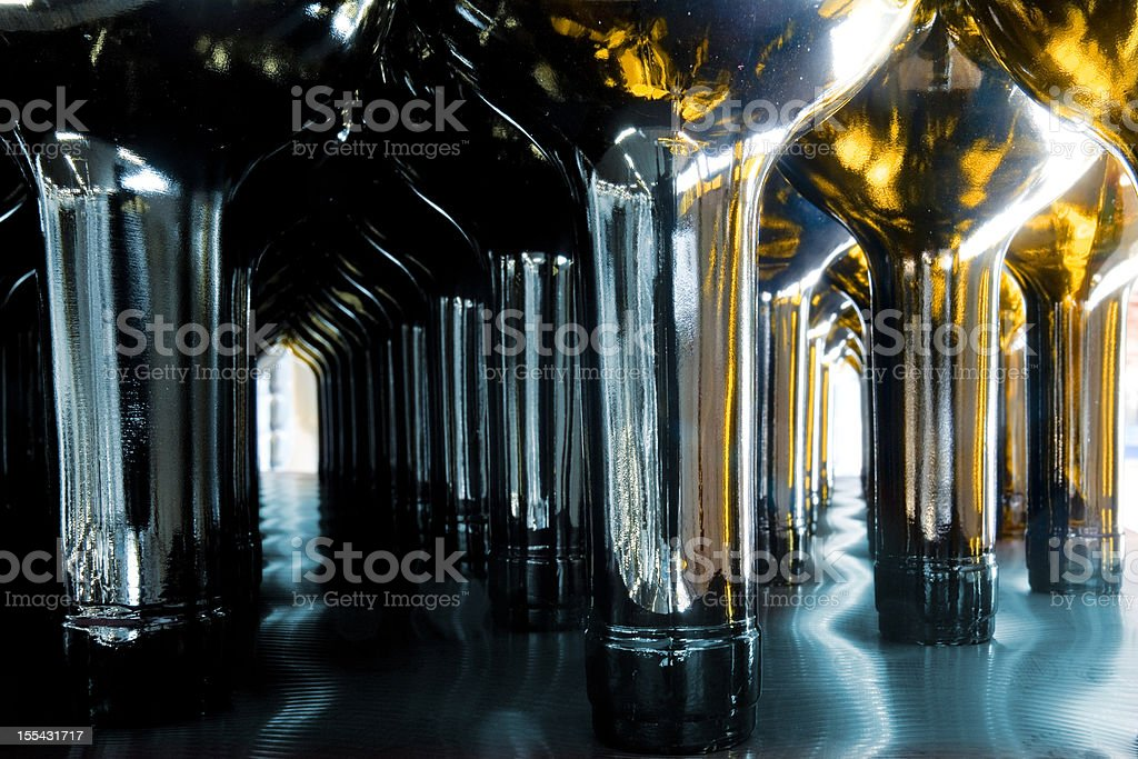 Wine cathedral royalty-free stock photo