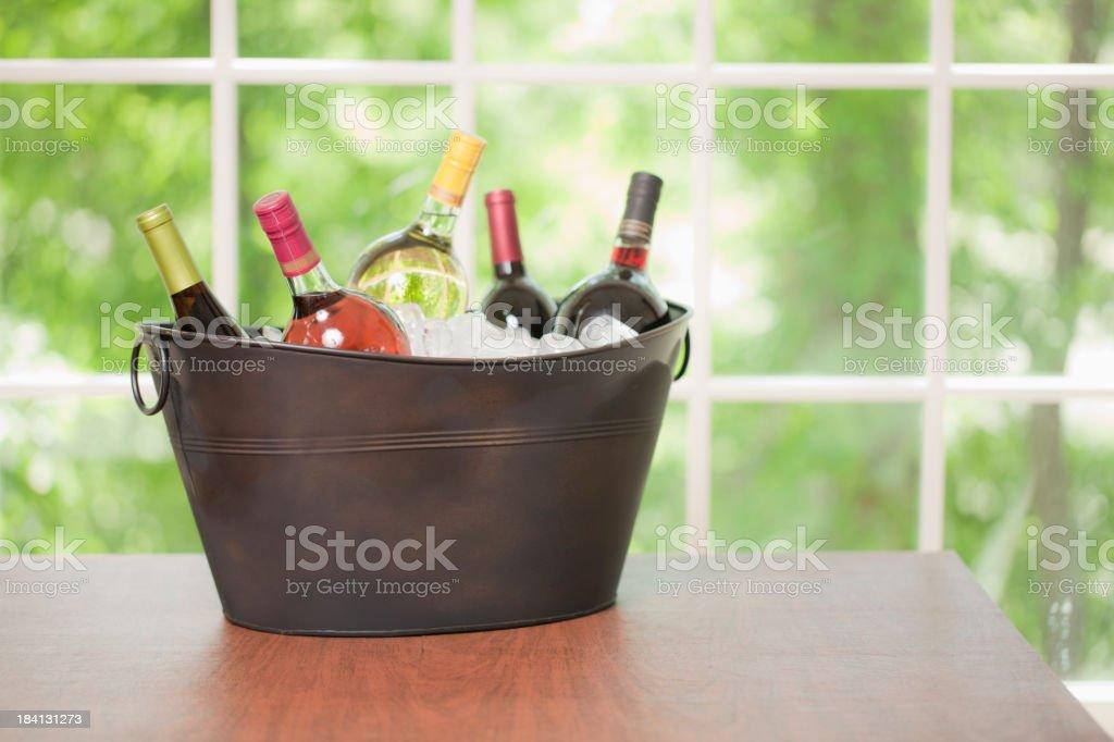 Wine Celebration stock photo