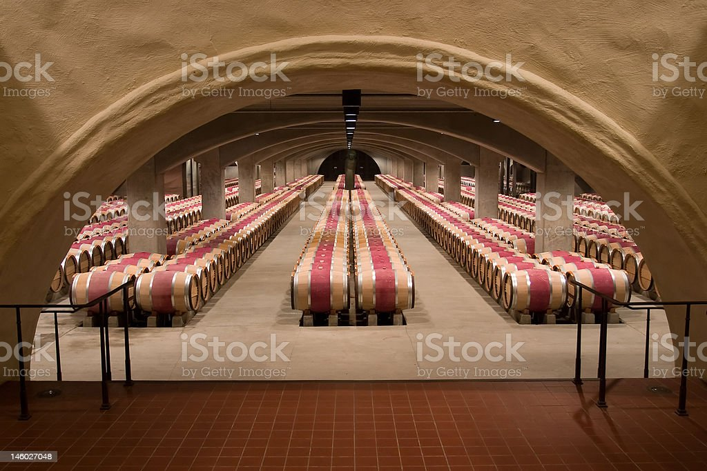 Cave a vin royalty-free stock photo