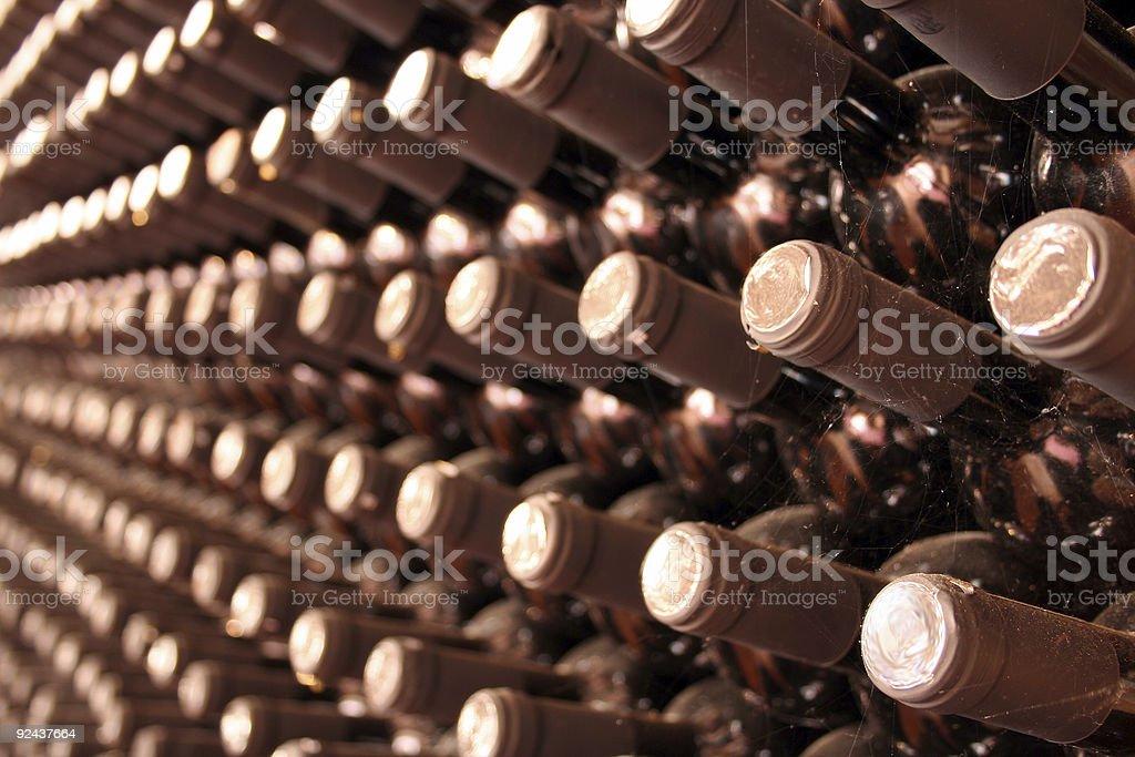 Wine cellar royalty-free stock photo
