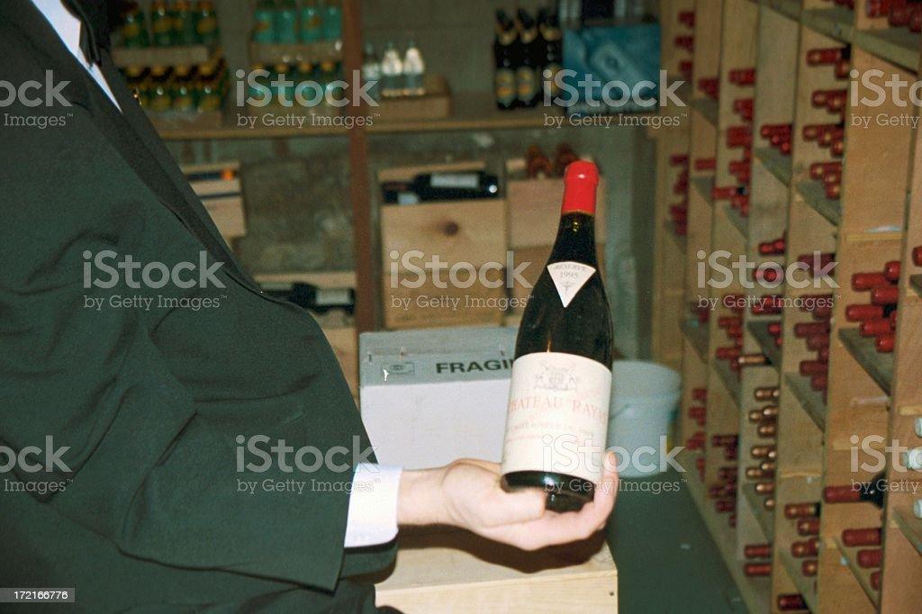 Wine - Cellar's Master royalty-free stock photo