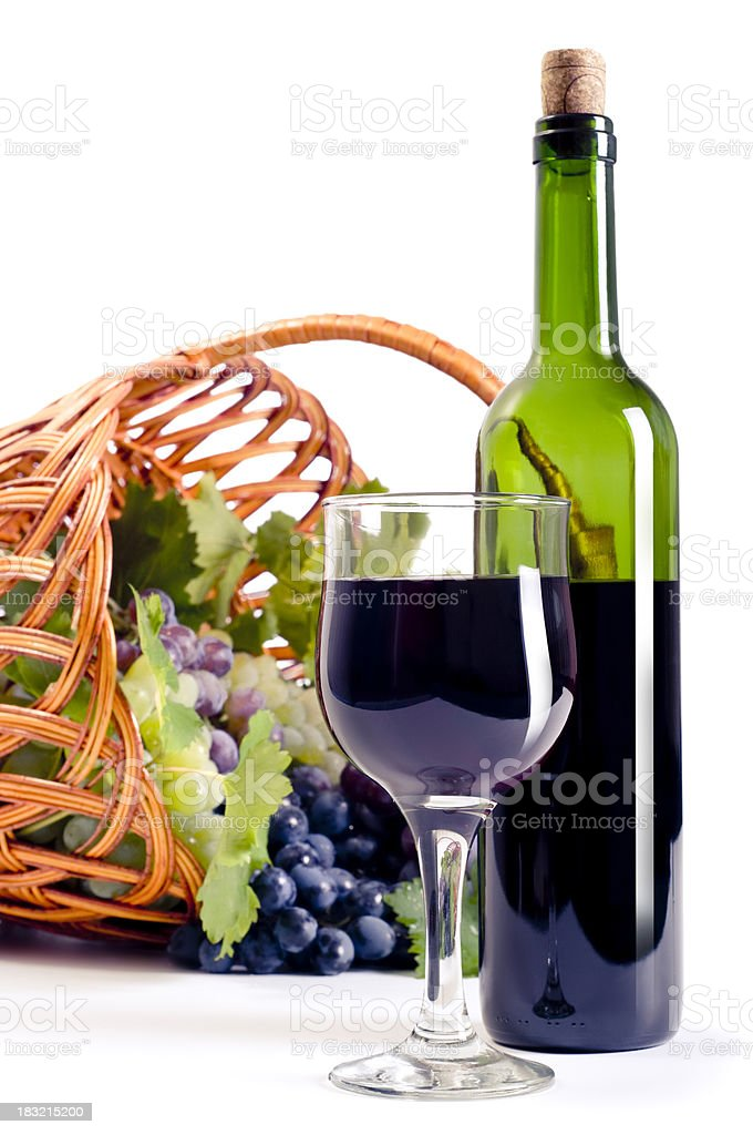 Wine composition royalty-free stock photo