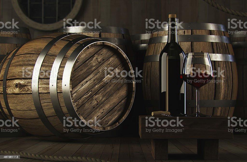 Wine concept stock photo