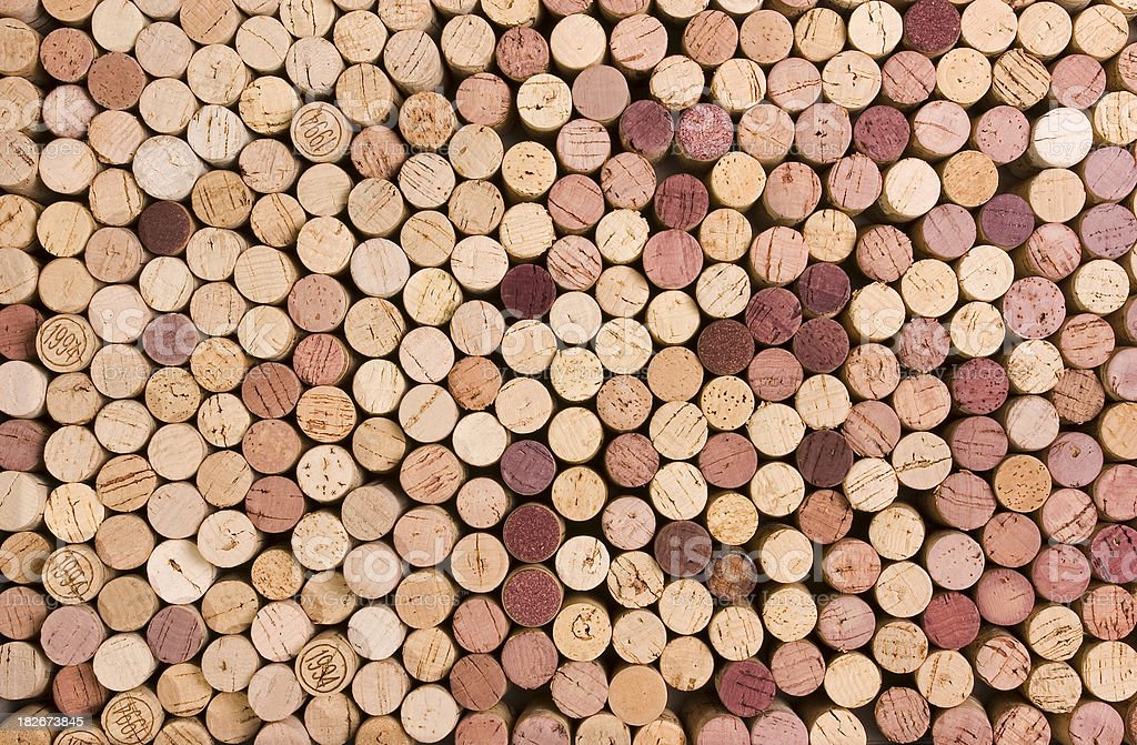 Wine Cork Background 1 royalty-free stock photo
