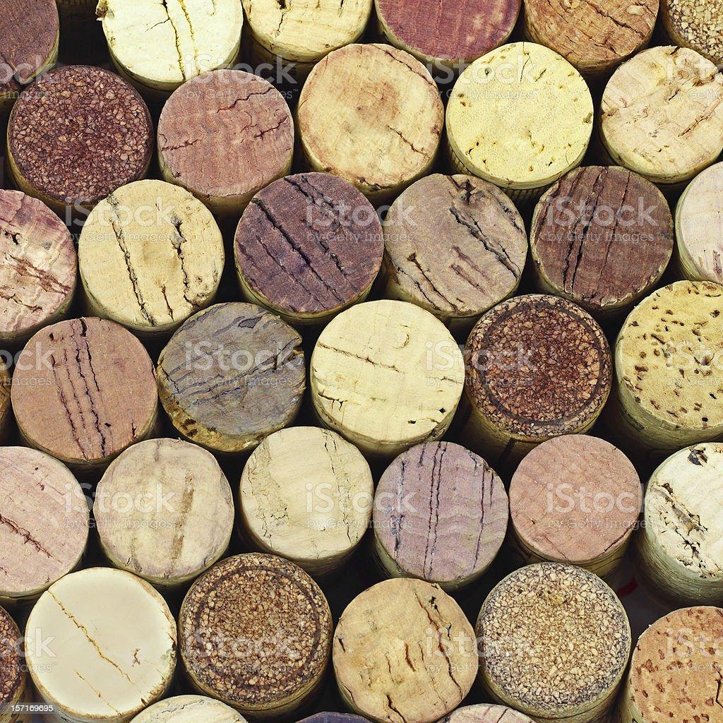 Wine corks royalty-free stock photo