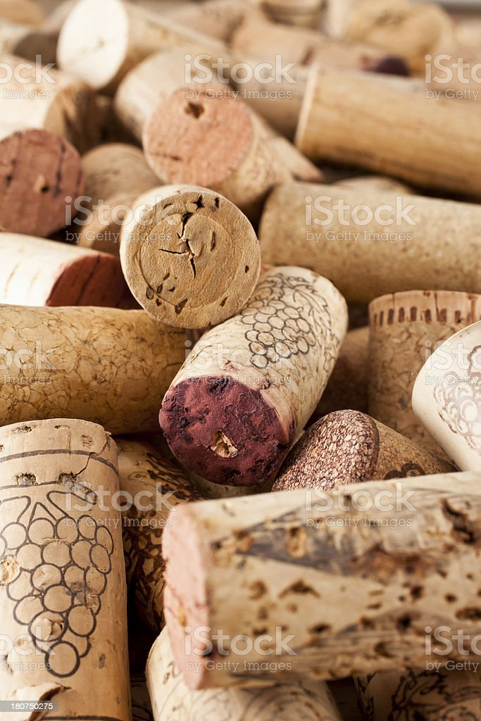 Wine Corks royalty-free stock photo