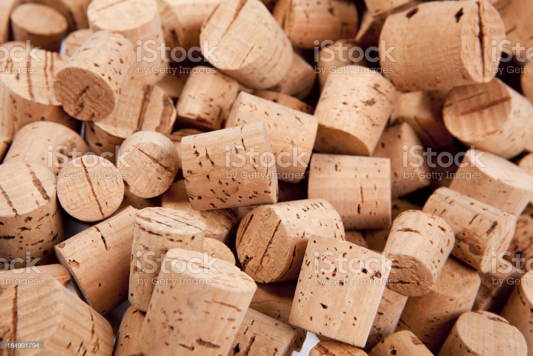 Wine corks XXXL royalty-free stock photo