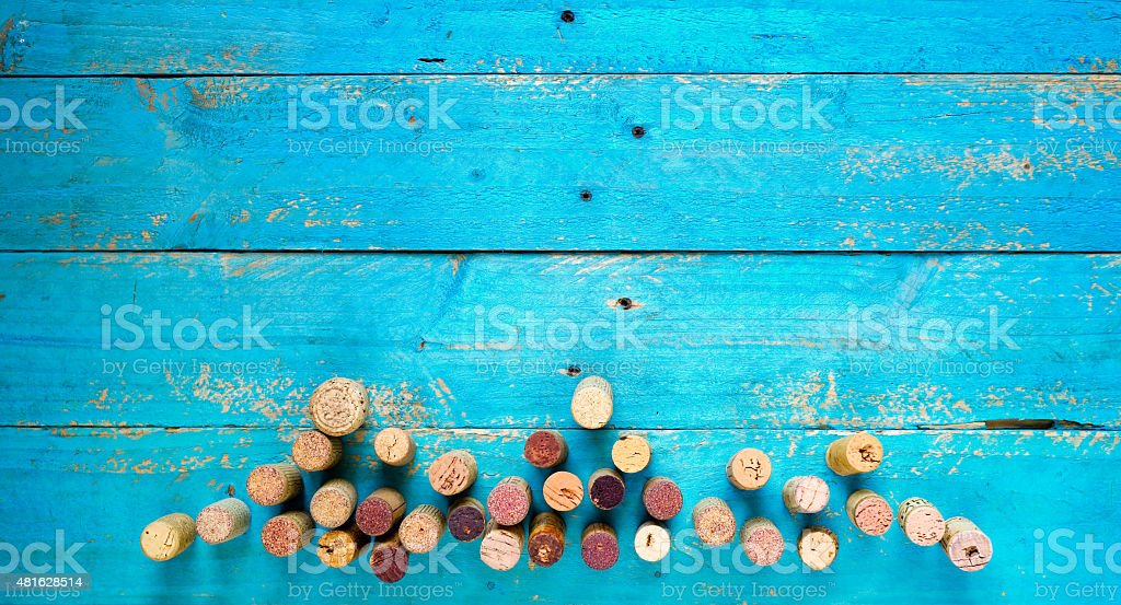 wine corks,free copy space stock photo