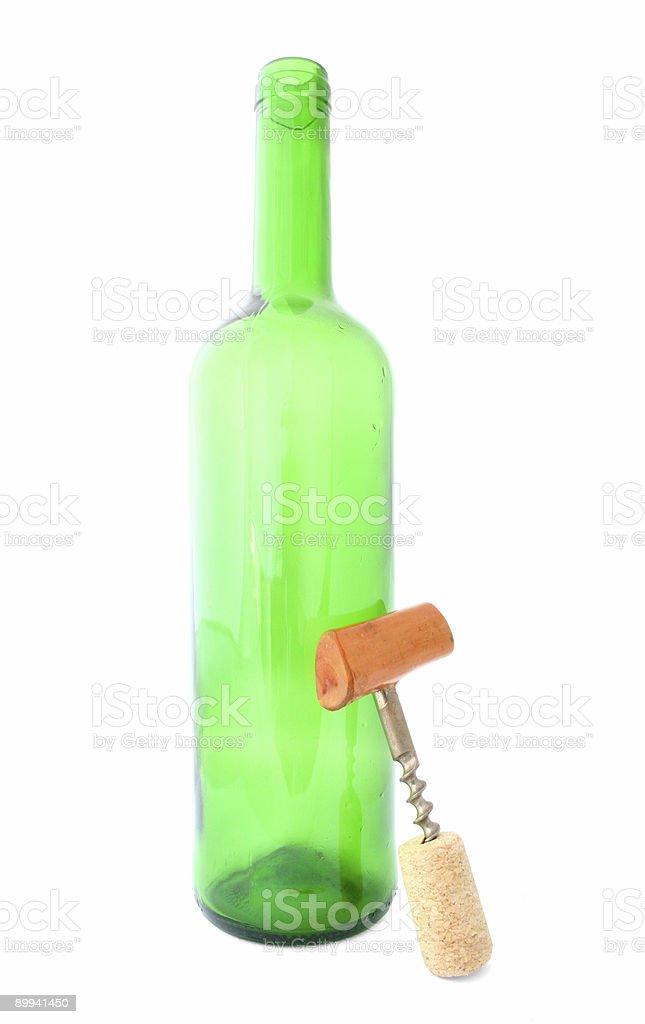 wine deficit royalty-free stock photo
