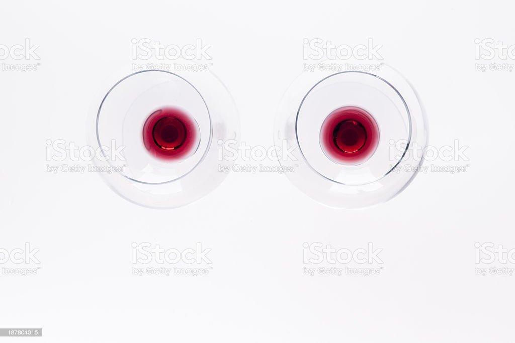 Wine Eyes stock photo