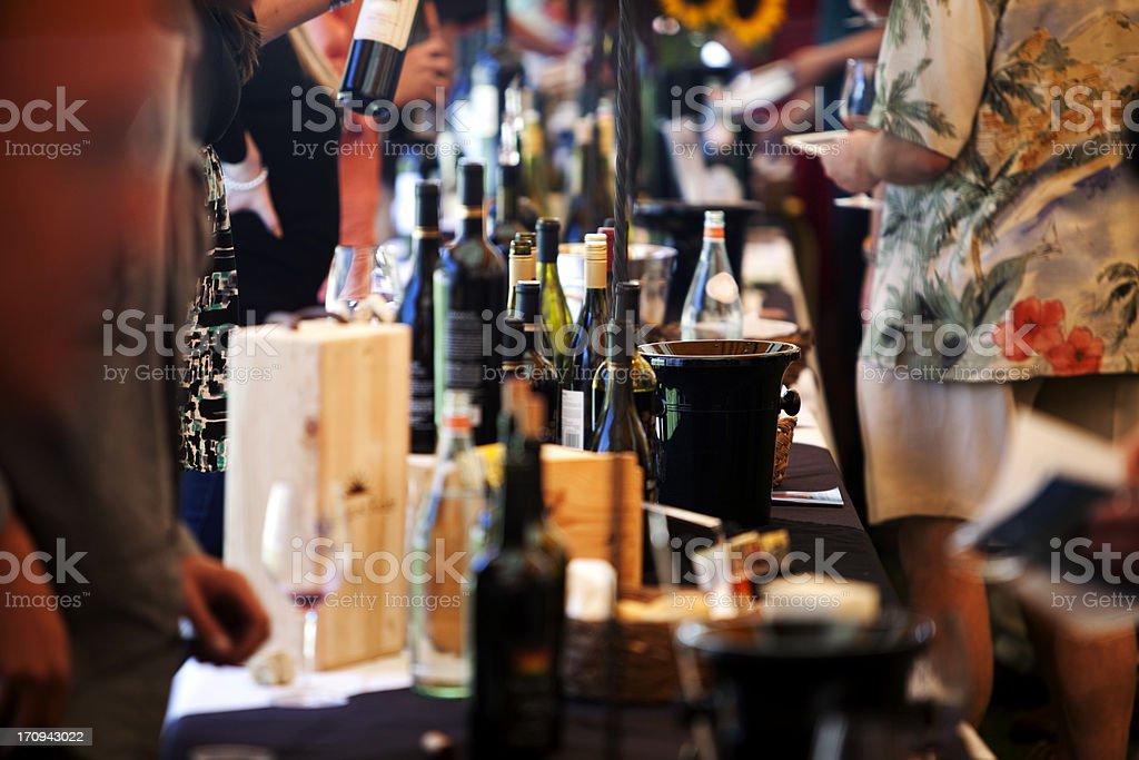 Wine Festival stock photo