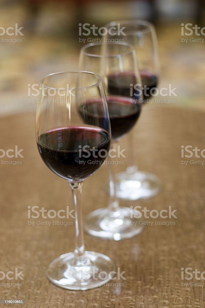 Wine Flight royalty-free stock photo