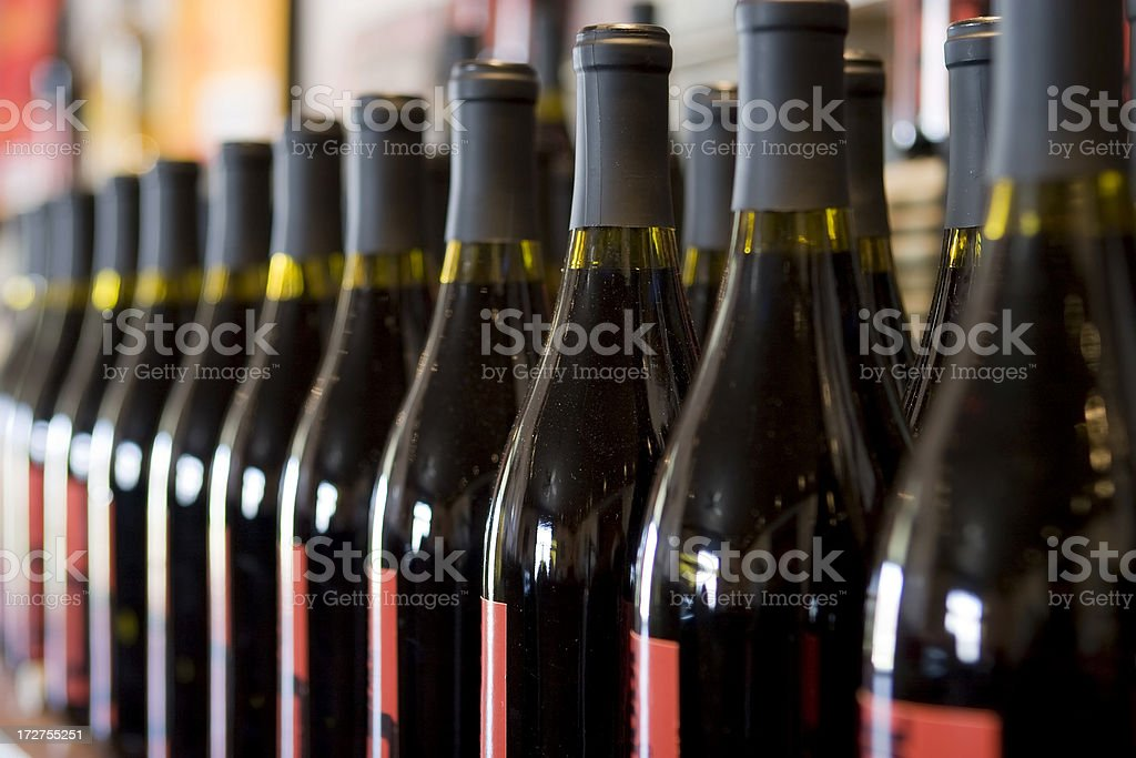 Wine for Sale stock photo