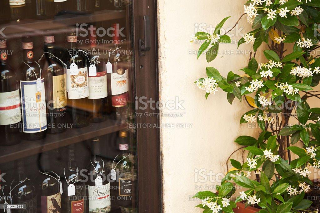 Wine from Chianti stock photo
