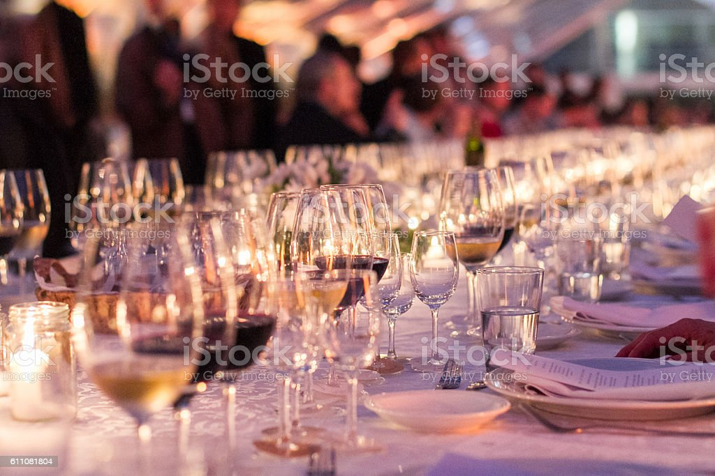 Wine Gala stock photo