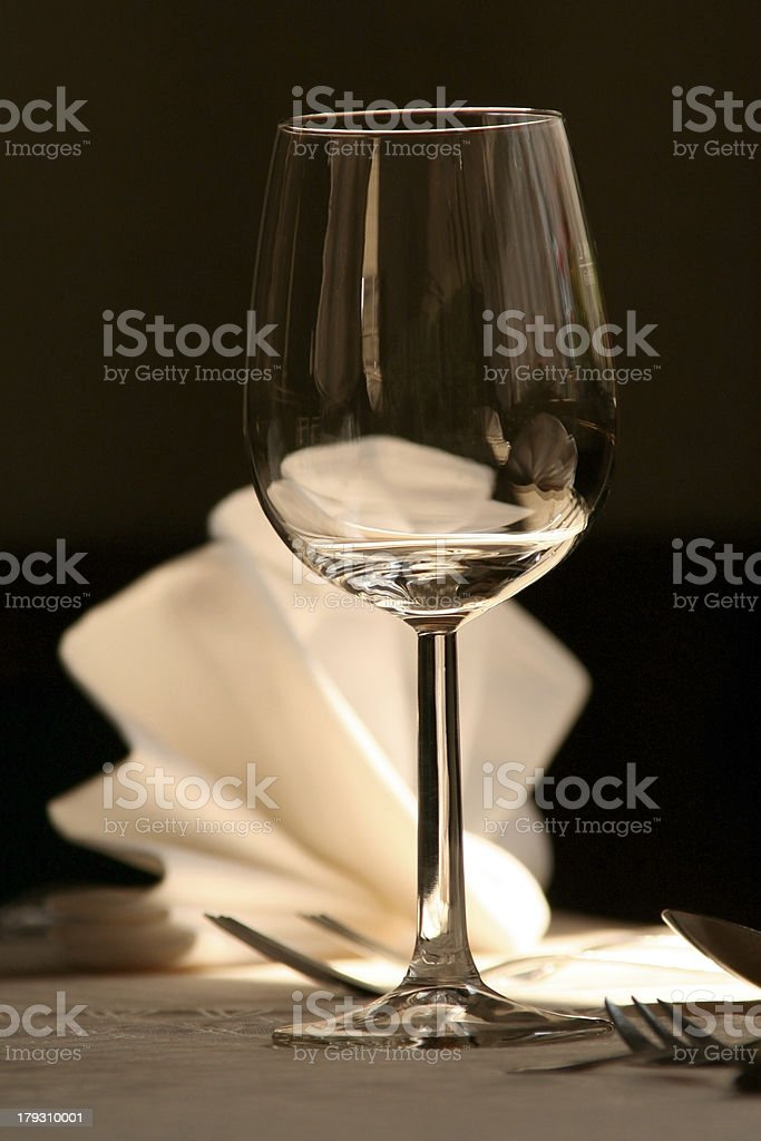 wine glas royalty-free stock photo
