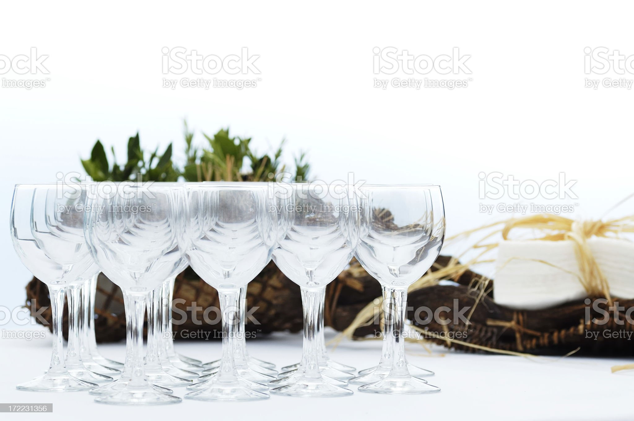 Wine Glass Composition royalty-free stock photo