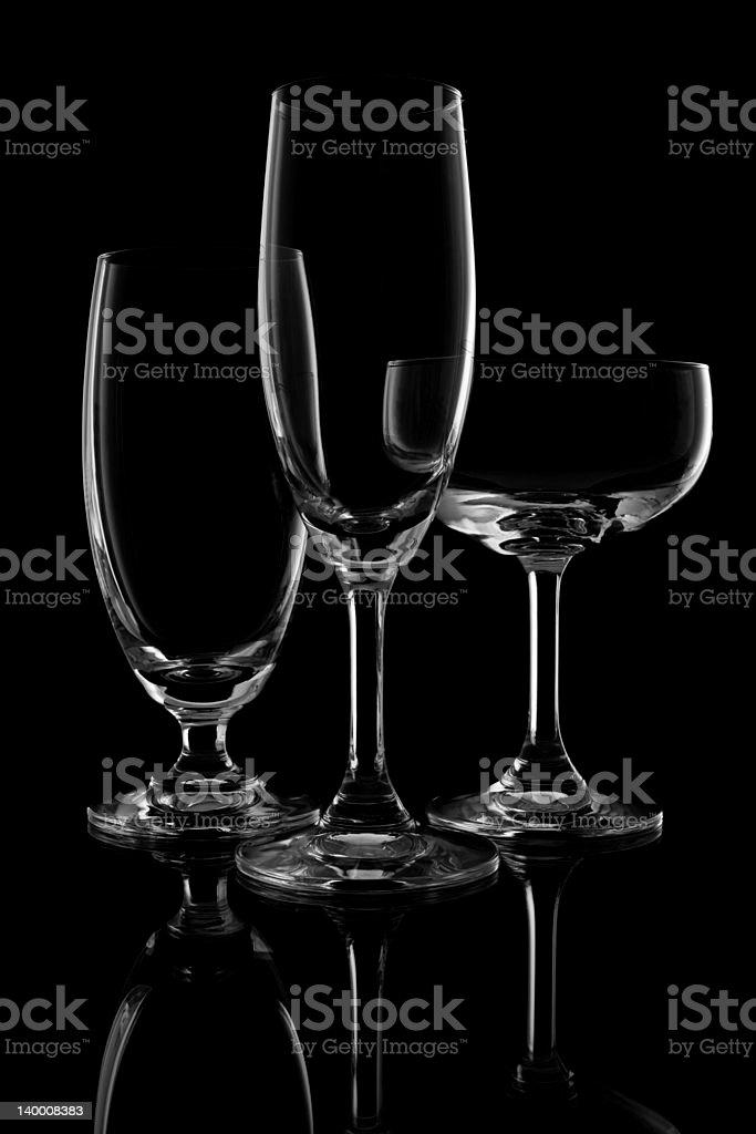 Bicchiere da vino foto stock royalty-free