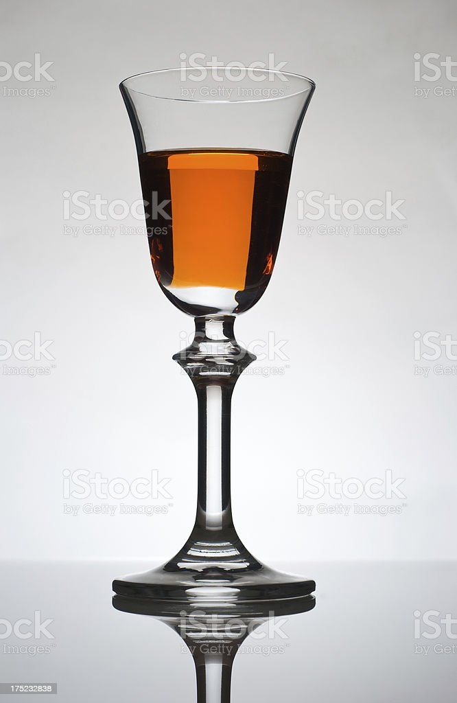 Wine glass royalty-free stock photo