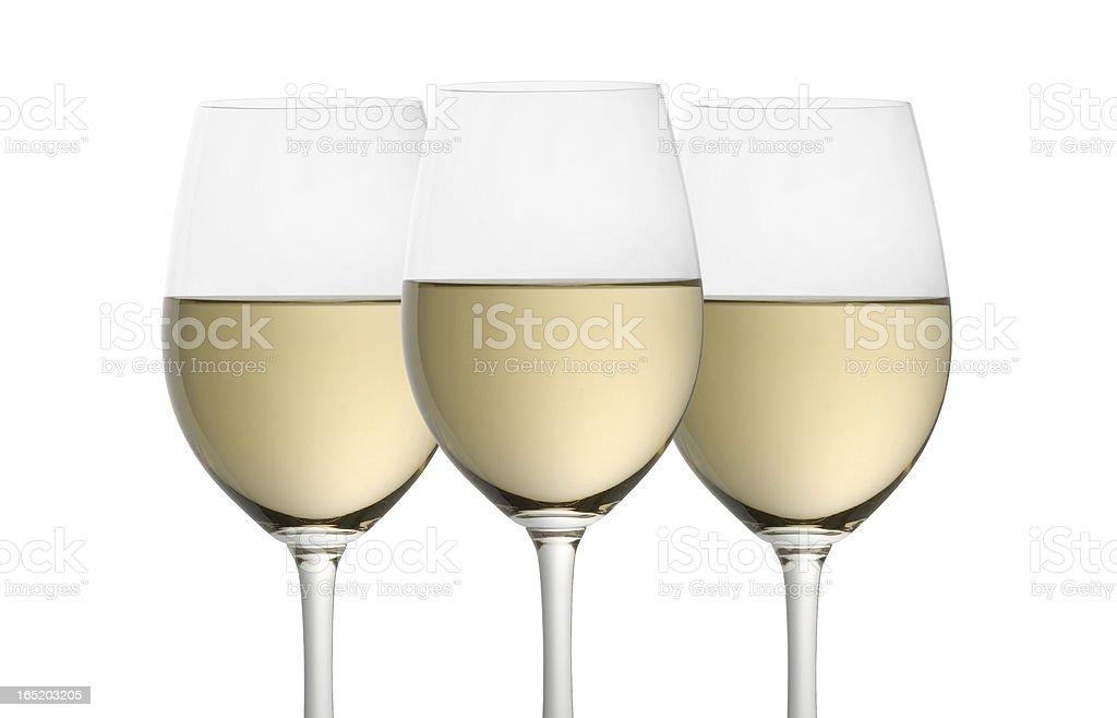 Copas de vino foto de stock libre de derechos