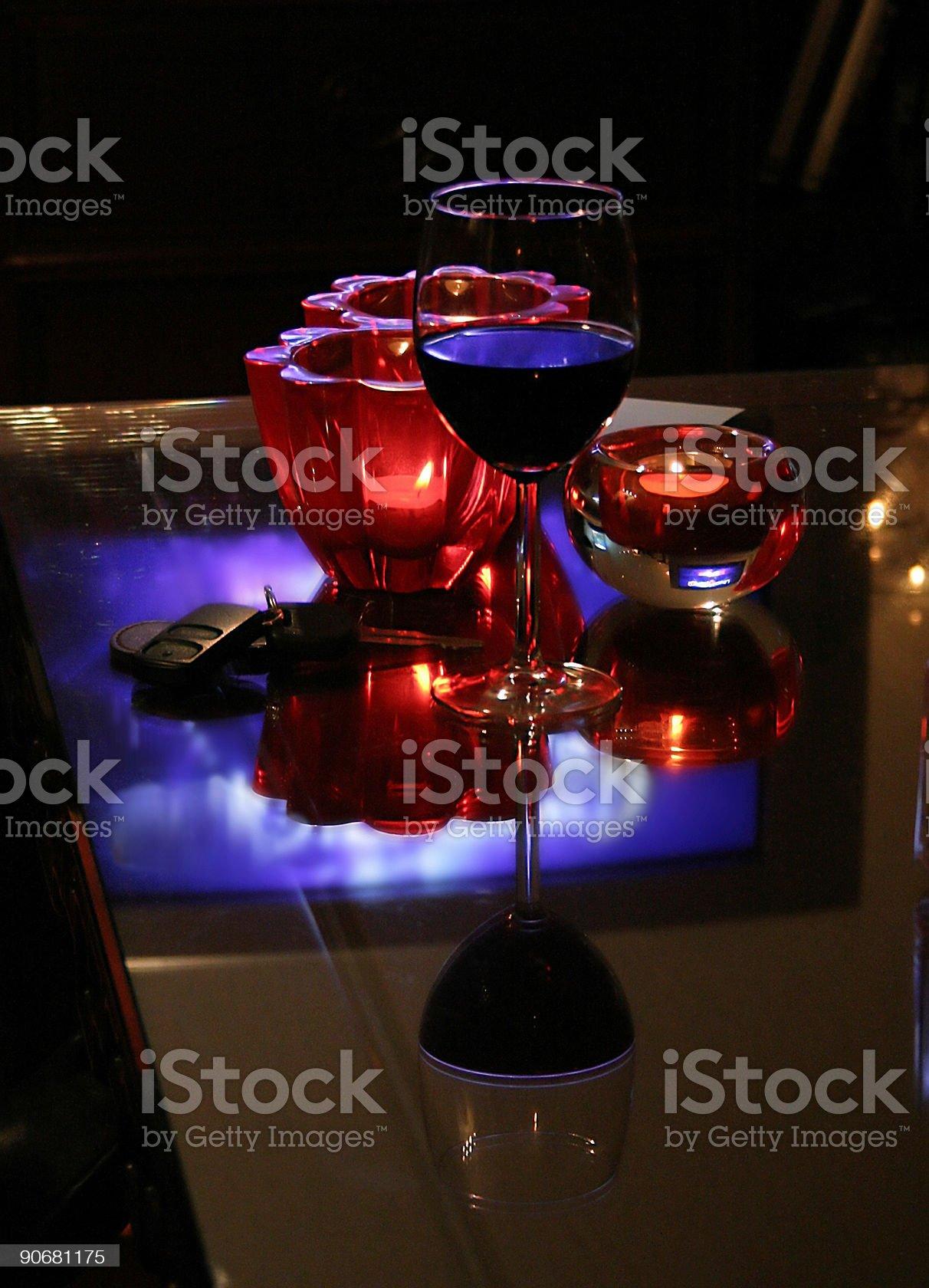 Wine Goblet royalty-free stock photo