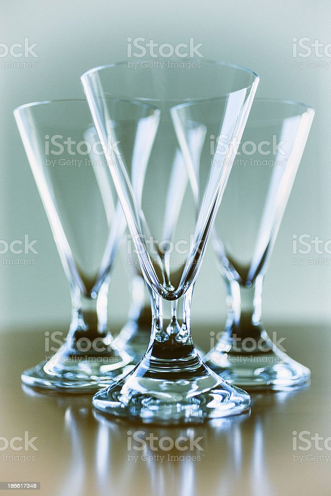 Wine Goblets royalty-free stock photo